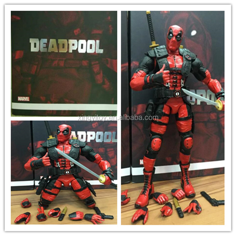 "Play arts kai Marvel super hero deadpool 10""Toy action figure"