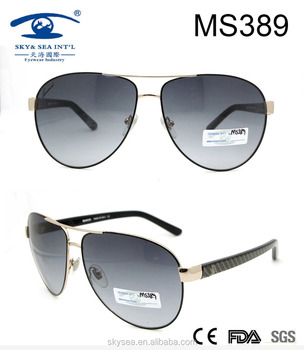 custom adult metal sunglasses with high quality