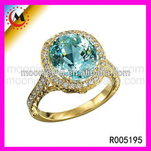 GOLD COVERING CZ FASHION JEWELLERY