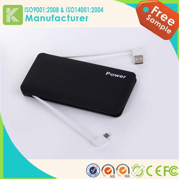 New products portable travelling waterproof power bank,new design smart power bank,6000mah mobile phone use power bank