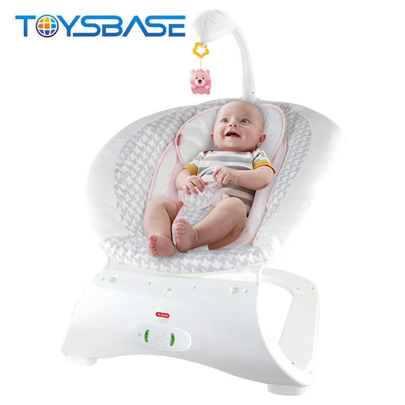2017 New Product Baby Rocker Chair,With Vibration Massage Function Portable Baby Electric Swing Bed
