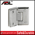 New design bathroom equipment stainless steel wall mounted glass door clamp hinge square tube glamp