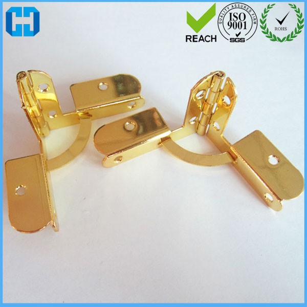Decorative Metal Hinges Aircraft Hinges Jewelry Box Hinges With Screws