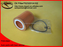 100% wood pulp high quality automobile oil filter factory