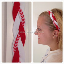 Customized Women's Nylon Triple Braided Sports <strong>Headband</strong> with NO SLIP GRIP