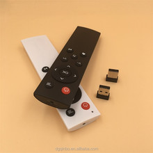 2.4G Wireless Keyboard+IR master tv remote control for smart tv box