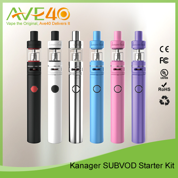 Kanger Subvod Starter Kit, Colorful Kanger Subvod In Stock, Subvod Kit SSOCC Coil with Subtank Nano-S 100% Original