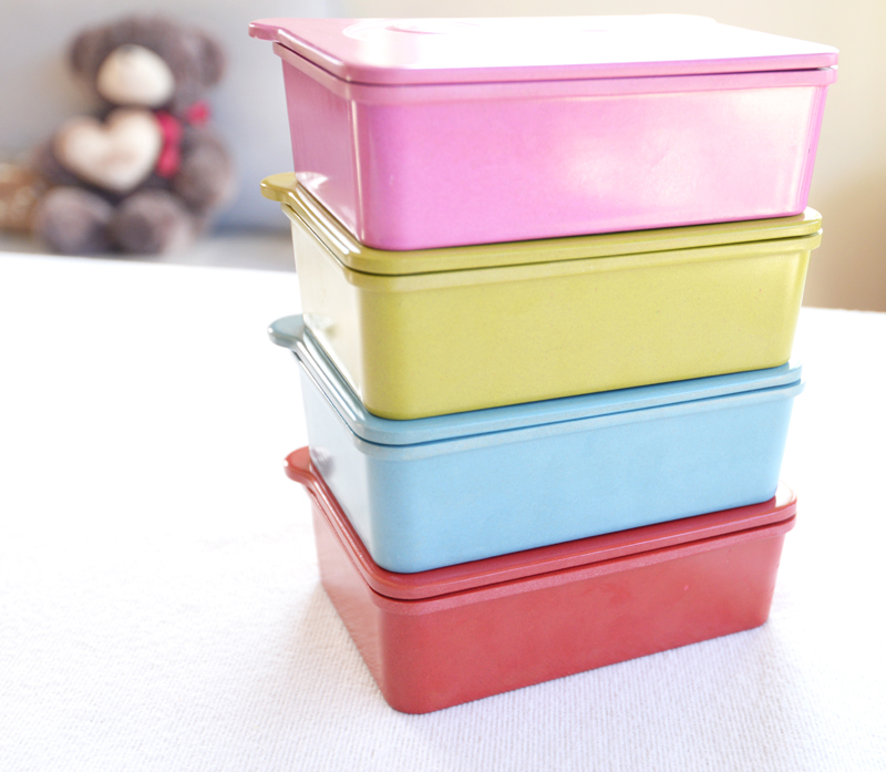 Colorful Metal Food Carrier/ Bento/ Hot Food Container