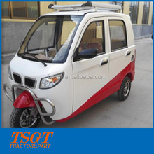 like city car closed cabin gasoline tricycle with 175cc engine and auto gearbox