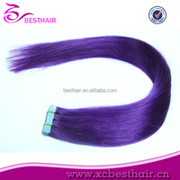 2014 hot selling good quality indian remy tape in human hair extensions