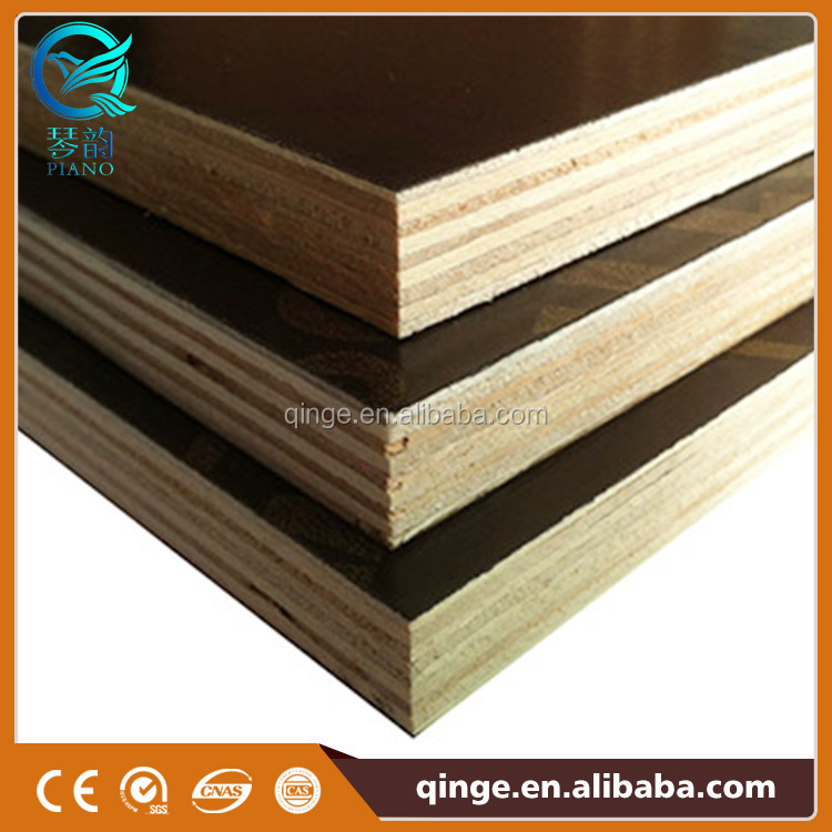 Best quality import dynea black film faced birch core plywood