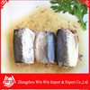 Canned Jack Mackerel In Brine To