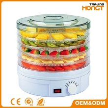 Dehydrator-Electric Mini Food Dehydrator With 5 Tray,Excalibur Food Dehydrator,fruit dehydrator