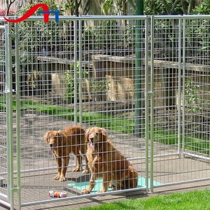 galvanized/pvc coated beautiful grid wire mesh for dog cages