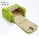 High quality travel storage waterproof makeup cosmetic toiletry organizer hanging bag for women