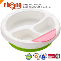 BPA Free Hot Sell Warm Keeping reusable Baby Plastic Bowl with handle