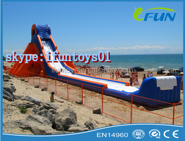 inflatable giant hippo slide tube for sale / inflatable hippo slide largest / water hippo slide tube