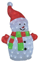 Christmas lights, Acrylic led lights snowman, 3D, new design