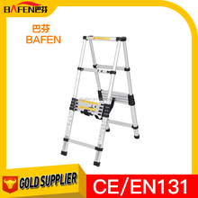 popular aluminum folding stool Telescopic ladder