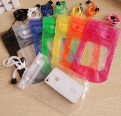 High quality fashion PVC screen touch mobile waterproof phone bag