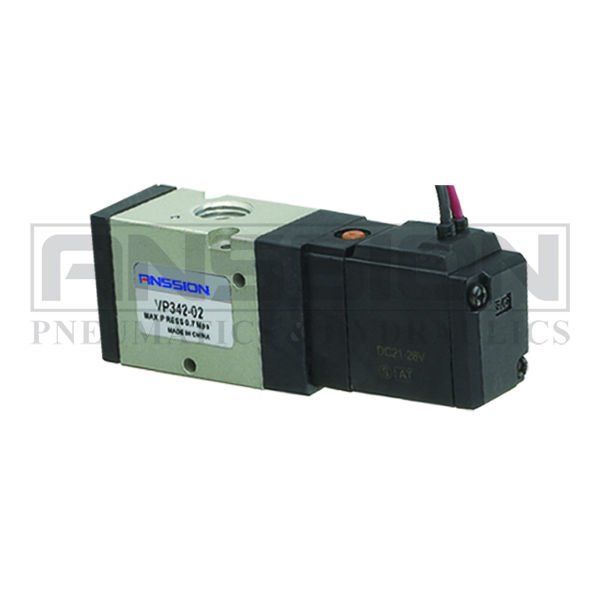 3 Port Solenoid Vavle VP342 Series