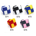 China Supplier knitting fabric cufflinks Square Silk knot Cuff link Elastic Rope Cuff