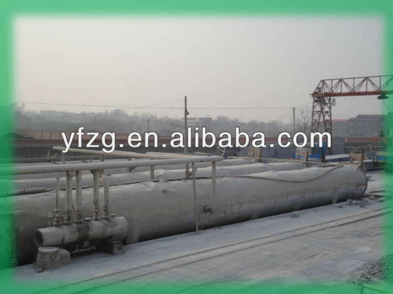 200,000m3 Aerated concrete (AAC) Block Production Line-Yufeng Supply