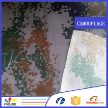 water resistant T/C twill camouflage printed fabric