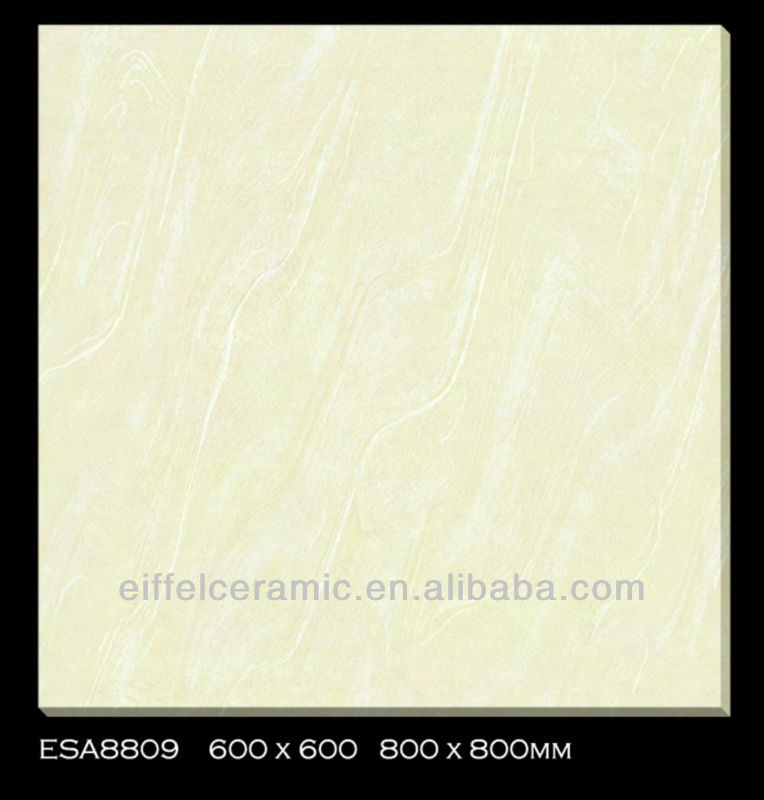 Super glossy soluble salt floor tiles 60x60