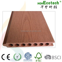 100% Recycled Exterior WPC Cladding / WPC Wall Panel /Wall Cladding