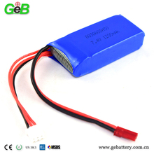 GEB 803060 30C 2S1P 1200mah lipo battery rechargeable battery for remote control car