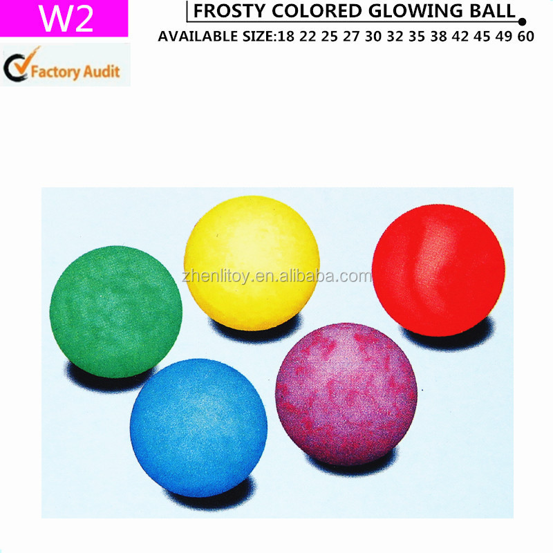 2016 High quality rubber bouncy ball