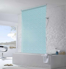Ready Made Bathroom Water Resistant Fabric Roller Blind