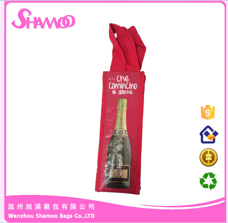 Mini thermal wine cooler bag