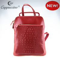 fashion men business laptop backpacks new stylish genuine leather backpack , vintage leather backpack , leather backpack