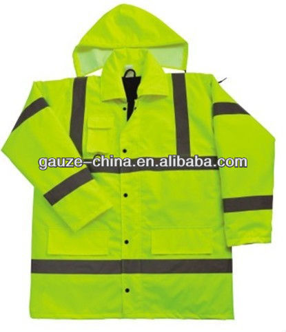 high visibility reflection safety coat