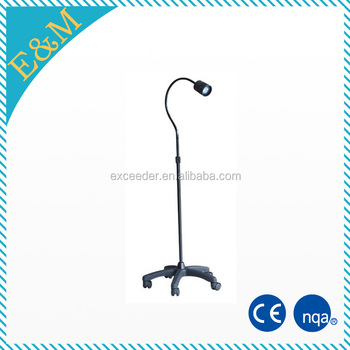 Mobile standing led surgical operating lamp