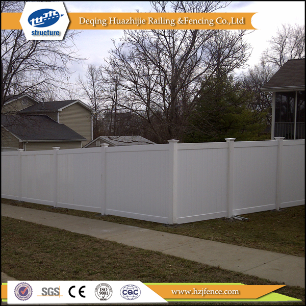 cheap pvc privacy yard fencing