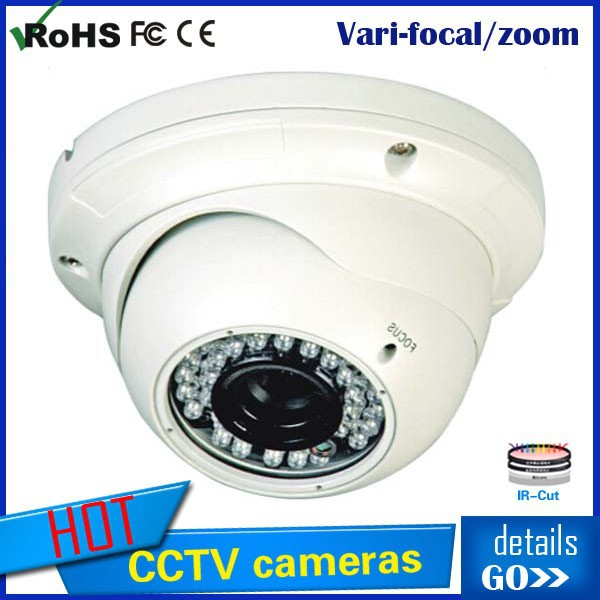 2014 Tollar Dome 700TVL Sony CCD Effiio-E Indoor waterproof IR pan tilt zoom camera