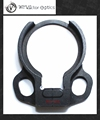 Universal End Plate Dual Loop Sling Mount Adapter fit for Mil-Spec and Commercial Spec AR15 M4 Butt STOCK Buffer Tube