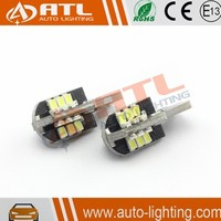 Wholesale factory price 24smd t10 led light, auto light t10