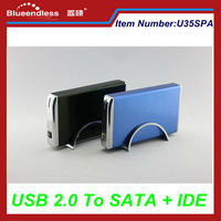 USB 2.0 480Mbps SATA + IDE Support 2TB Universal 3.5 Inch HDD Enclosure