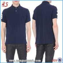 "Online China Shop Chinese Clothing Manufacturers Designer Embroidered ""3"" In The New Style Polo T Shirt"