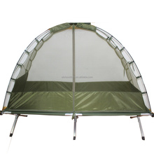British Military Army Cot Mounted Mosquito Net <strong>Tent</strong> with Insecticide Treatment