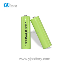 ni-mh aa 1300mah rechargeable battery 1.2v nimh 1800mah battery pack with lithium batteries for emergency light