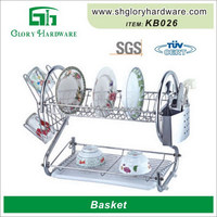 Wholesale Cheap Aluminum Stainless Steel Chrome Heated Bread Basket