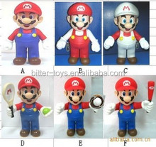 "OEM Making New Loose Super Mario Bros. Baby BB Luigi Cute 4-18"" action Figure Toy Super Mario"