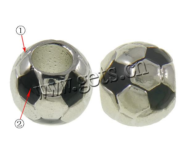 Zinc Alloy Football Football Charms Wholesale 788115