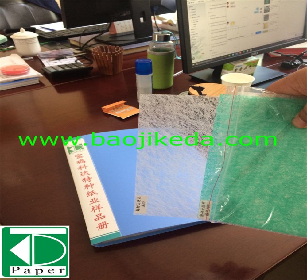 100% Polyester non woven fabric air filter material