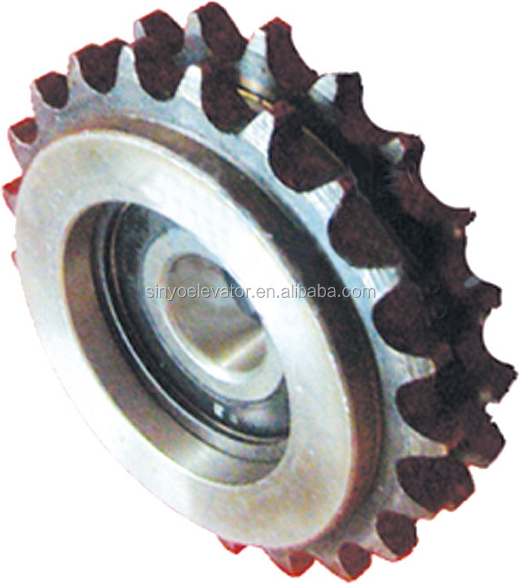 Gap Bridge Chain Wheel for Mitsubishi Escalator parts